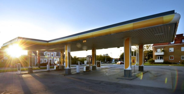 Obemannad bensinstation